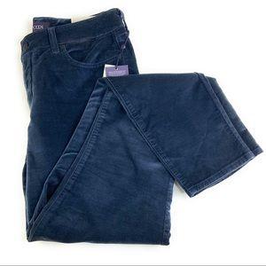 NYDJ Ami Velvet Skinny Leggings in Blue